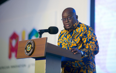 Ghana's president self-isolates after close contact with infected person.