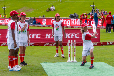 KFC Winners at the Cricket South Africa Awards.