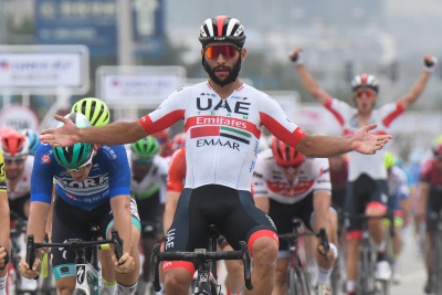 Fernando Gaviria out of Giro after testing positive for Covid-19 for second time.