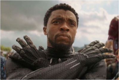 'Black Panther' star Chadwick Boseman dies of cancer aged 43.