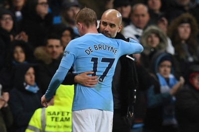 Kevin de Bruyne out of Arsenal match,Aguero in training.