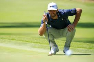 Dustin Johnson joins Paul Casey and Dylan Frittelli in lead - Masters 2020.