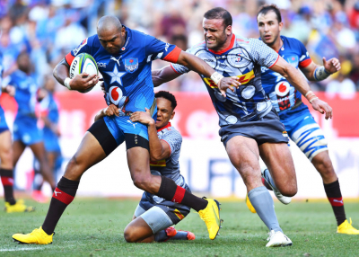 Vodacom Bulls take a bonus-point win before lightning stopped play.