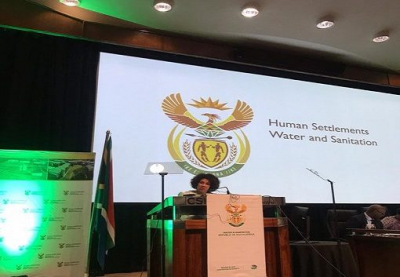Sisulu issues a stern warning against private property invasions.