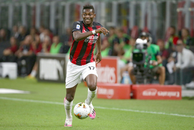 AC Milan' Rafael Leao scores fastest goal in Serie A history after SIX SECONDS against Sassuolo.
