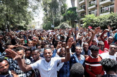 Over 80 killed in Ethiopia unrest after popular singer shot dead.