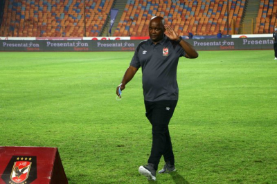 Pitso Mosimane win treble with Al Ahly just two months after taking charge.