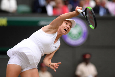 "Simona Halep ""recovering well"" after contracting COVID-19."