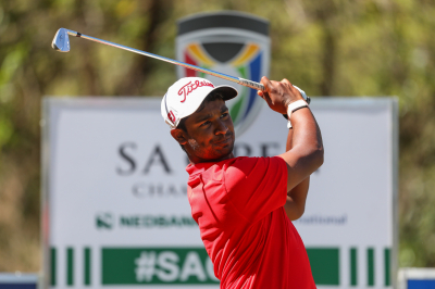 Golfers dreaming of a place in SA Open history.