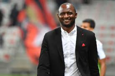 Nice sack manager, Patrick Viera after two and a half years in charge.