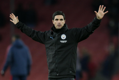 Special to have 2,000 Arsenal fans back at the Emirates - Mikel Arteta.