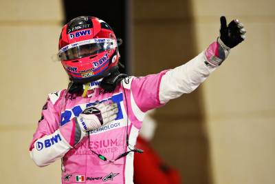 Racing Point's Sergio Perez Wins Maiden F1 Race at Sakhir Grand Prix.