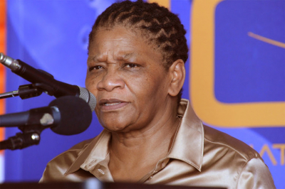 Thandi Modise's warrant of arrest and contempt charge cancelled.