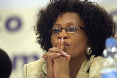 Mokonyane's home repairs under scrutiny at state capture inquiry.