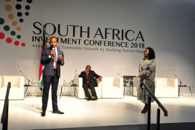 Preparations for 3rd South African Investment Conference underway.