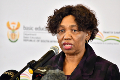 Motshekga salutes teachers for upholding standard and quality of teaching.