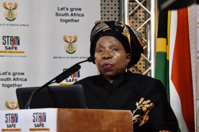 Government will review latest lockdown restrictions when we've passed Covid peak - Dlamini-Zuma.