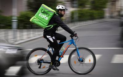 SA Uber Eats drivers halt deliveries in protest over low pay.