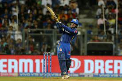 Quinton de Kock hits 70 as Mumbai beat Rajasthan Royals by seven wickets - IPL.