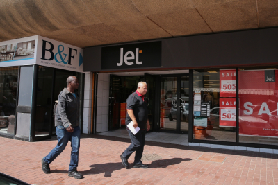 Foschini Group entered into an agreement to buy Jet stores from Edcon.
