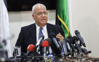 South Africa offers condolences to Palestine following death of Saeb Erekat.