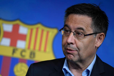 Barcelona president Josep Maria Bartomeu and his board resign.