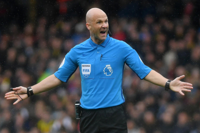 Anthony Taylor join a unique group of officials to have refereed the FA Cup Final twice.