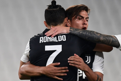 Juventus moved seven points clear at the top of Serie A.