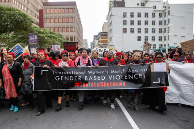 Private sector pledge millions for gender-based violence response fund.