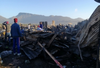 Government intensifies relief efforts to Masiphumelele informal settlements.