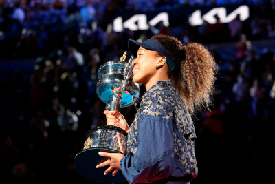 Naomi Osaka aims to inspire new generation - but says Serena Williams is still the queen.
