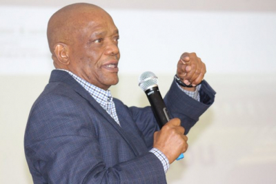 Job Mokgoro calls for calm amid SABC property auction.