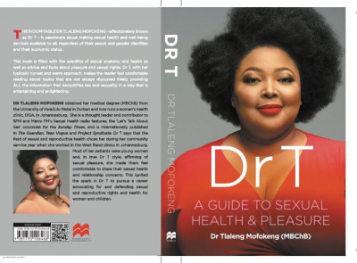 Dr Tlaleng Mofokeng has extended her advocacy work by penning a comprehensive handbook on sexual health.
