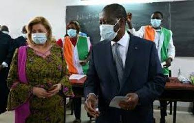 Ivory Coast president Alassane Ouattara reelected after contested vote.