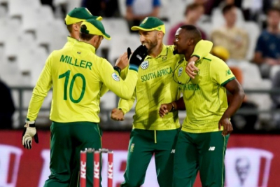 South Africa vs. England second ODI postponed.