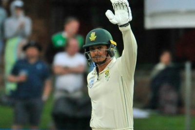 Quinton de Kock named South African Cricketer of the Year.