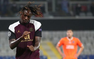 Blues in rampant win,Moise Kean's brace give PSG win.