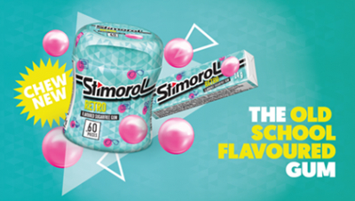 Stimorol takes it back with the new Retro Flavour.