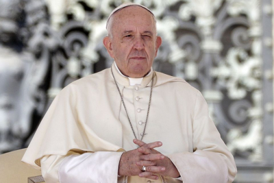 Pope Francis urges COVID-19 vaccine for all in Christmas message.