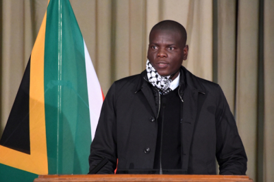 Lamola defends the judiciary after attacks by EFF leader Julius Malema.