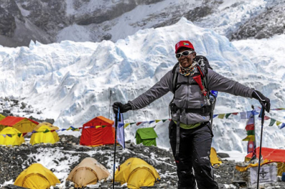 The first black African woman to summit Mount Everest discusses importance of mental resilience.