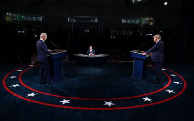 Trump, Biden battle in 'ugly' first US election debate.