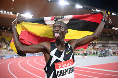 Cheptegei smashes 10,000m world record.