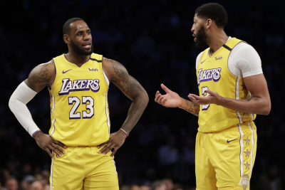NBA play-offs: LA Lakers victory levels series with Portland Trail Blazers.